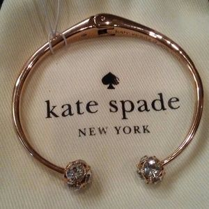 Kate Spade Lady Marmalade Rose Gold Cuff NWT! $78